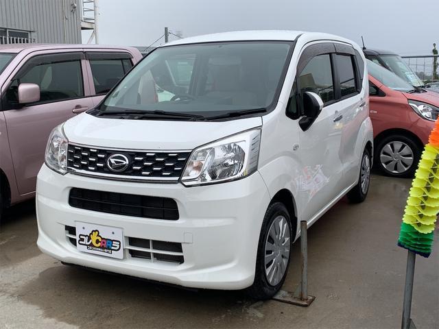 沖縄の中古車 ダイハツ ムーヴ 車両価格 69万円 リ済込 2016(平成28)年 6.1万km ホワイト