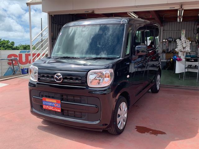 沖縄の中古車 マツダ フレアワゴン 車両価格 109万円 リ済込 2018(平成30)年 5.4万km ブラック