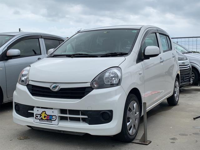 沖縄の中古車 ダイハツ ミライース 車両価格 48万円 リ済込 2016(平成28)年 4.2万km ホワイト