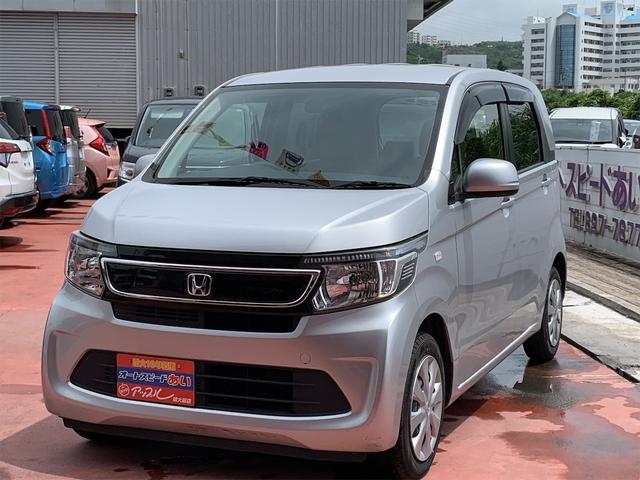 沖縄の中古車 ホンダ N-WGN 車両価格 68万円 リ済込 2015(平成27)年 3.2万km シルバー