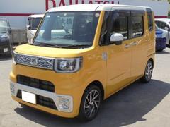 沖縄の中古車 ダイハツ ウェイク 車両価格 107万円 リ済込 平成27年 3.1万K フェスタイエロー