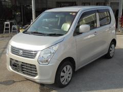 沖縄の中古車 スズキ ワゴンR 車両価格 72万円 リ済込 平成25年 3.6万K シルキーシルバーメタリック
