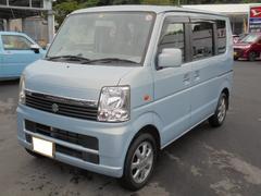 沖縄の中古車 スズキ エブリイワゴン 車両価格 44万円 リ済込 平成20年 9.1万K アクアマリンブルーオパールメタリック