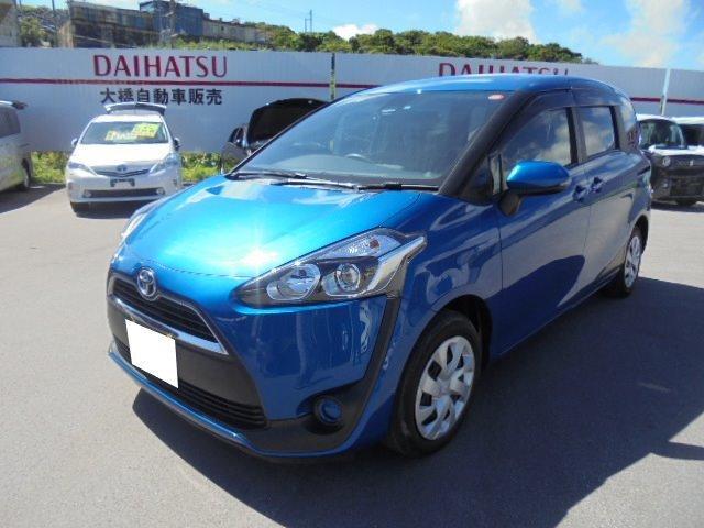 沖縄県の中古車ならシエンタ ハイブリッドXトヨタセーフティセンス