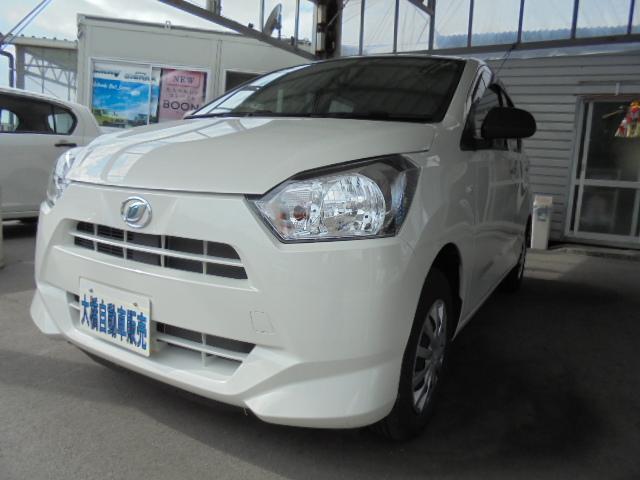 沖縄の中古車 ダイハツ ミライース 車両価格 71万円 リ済込 2019(平成31)年 0.8万km パールホワイトIII