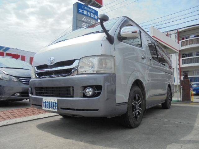 沖縄の中古車 トヨタ ハイエースバン 車両価格 160万円 リ済込 2009(平成21)年 12.5万km シルバー