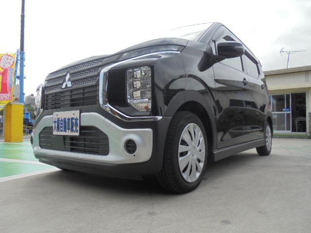 沖縄の中古車 三菱 eKクロス 車両価格 124万円 リ済込 2019(平成31)年 0.8万km アメジストブラック