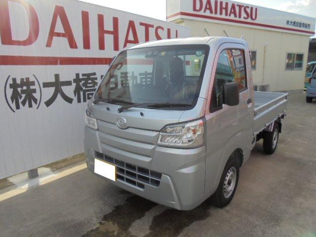沖縄の中古車 ダイハツ ハイゼットトラック 車両価格 94万円 リ済込 2020(令和2)年 9km ブライトシルバーメタリック