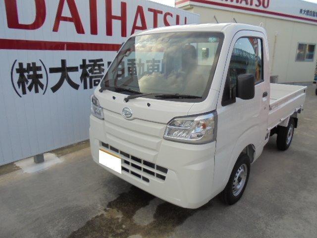 沖縄の中古車 ダイハツ ハイゼットトラック 車両価格 98万円 リ済込 2020(令和2)年 9km ホワイト