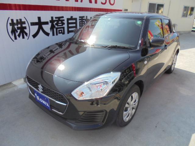 沖縄の中古車 スズキ スイフト 車両価格 118万円 リ済込 2020(令和2)年 0.5万km スーパーブラックパール
