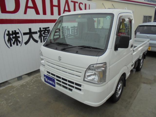 沖縄の中古車 スズキ キャリイトラック 車両価格 81万円 リ済込 2020(令和2)年 0.3万km ホワイト