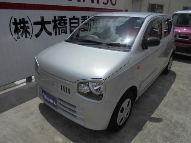 沖縄の中古車 スズキ アルト 車両価格 88万円 リ済込 2020(令和2)年 0.5万km シルキーシルバーメタリック