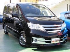 沖縄の中古車 日産 セレナ 車両価格 114.9万円 リ済込 平成23年 メータ交換9.6万K ブラック