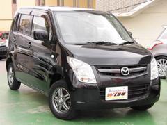 沖縄の中古車 マツダ AZワゴン 車両価格 41.9万円 リ済込 平成24年 7.2万K ブルーイッシュブラックメタリック