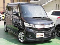 沖縄の中古車 スズキ パレットSW 車両価格 77.9万円 リ済込 平成24年 8.1万K ブルーイッシュブラックパール3