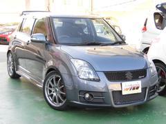沖縄の中古車 スズキ スイフト 車両価格 67.9万円 リ済込 平成21年 9.2万K アズールグレーメタリック