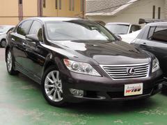 沖縄の中古車 レクサス LS 車両価格 145.9万円 リ済込 平成22年 10.3万K セーブルマイカメタリック