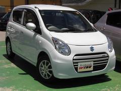 沖縄の中古車 スズキ アルトエコ 車両価格 41.9万円 リ済込 平成25年 8.9万K リーフホワイト