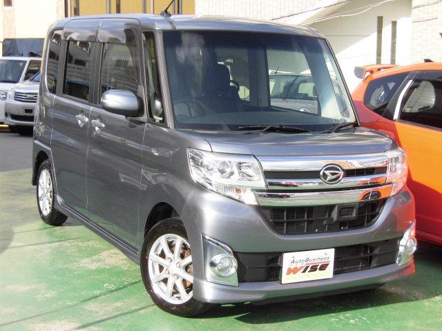 沖縄の中古車 ダイハツ タント 車両価格 95.9万円 リ済込 平成25年 8.3万km タングステングレーメタリック