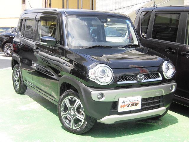 沖縄の中古車 マツダ フレアクロスオーバー 車両価格 85.9万円 リ済込 平成26年 9.0万km ブルーイッシュブラックパール3