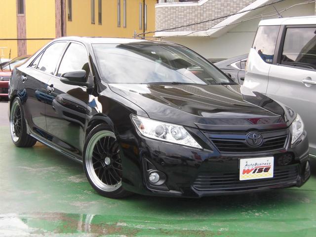 トヨタ カムリ ハイブリッド Gパッケージ 社外19incAW 車高調kit