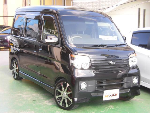 沖縄の中古車 スバル ディアスワゴン 車両価格 75.9万円 リ済込 2013(平成25)年 9.2万km ブラックマイカメタリック