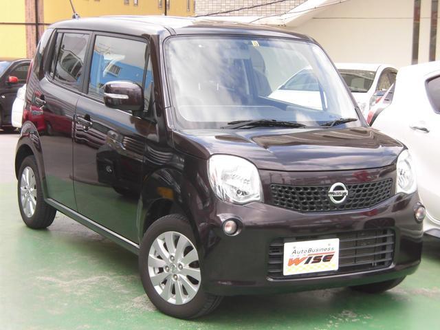 沖縄の中古車 日産 モコ 車両価格 55.9万円 リ済込 2015(平成27)年 7.4万km アーバンブラウンPM