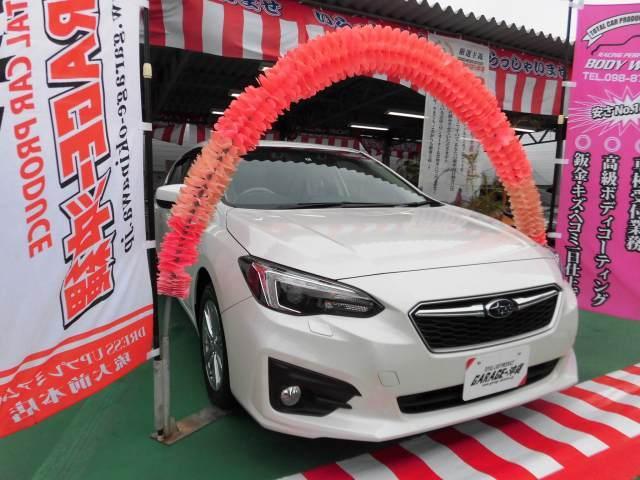沖縄県の中古車ならインプレッサスポーツ 1.6i-Lアイサイト・ナビ&ワンセグ・キセノン
