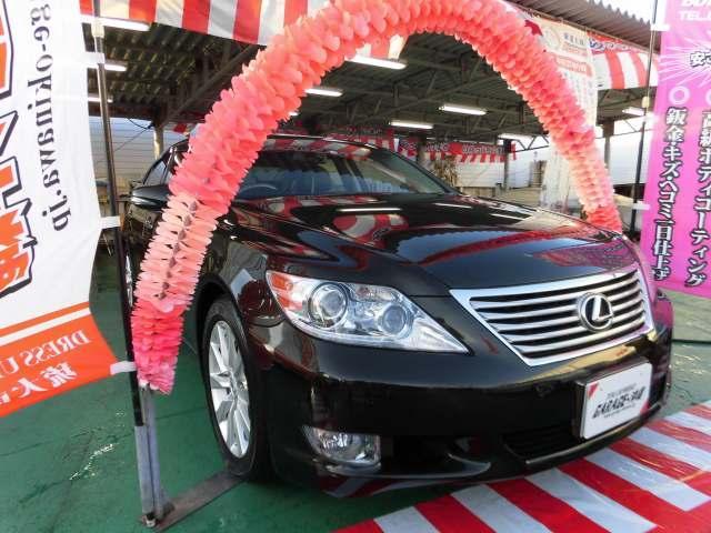 沖縄県の中古車ならLS 460 バージョンU-I・HDDツインナビ&フルセグ・レザー