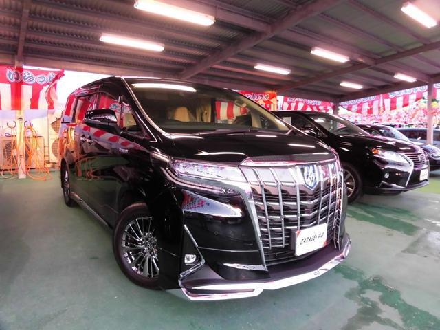 沖縄県の中古車ならアルファードハイブリッド ハイブリッド2.5エグゼクティブ・モデリスタVr当店デモカー
