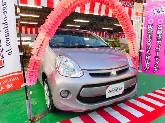 沖縄の中古車 トヨタ パッソ 車両価格 59万円 リ済込 2015(平成27)年 6.3万km パープルM