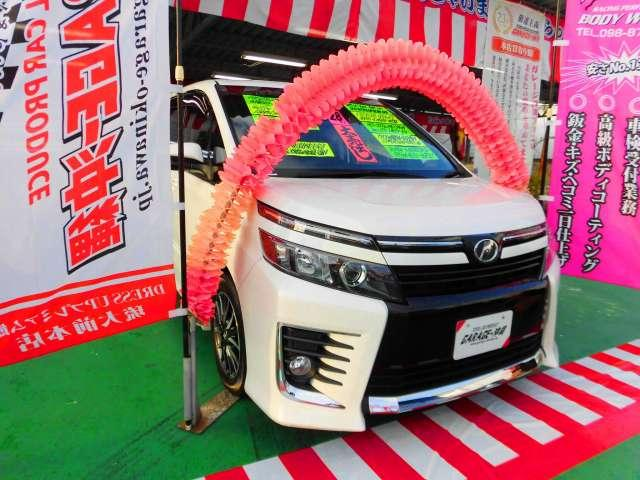 沖縄県の中古車ならヴォクシー 2.0 ZS・SDナビ&ワンセグ・キセノン・ツインサンルーフ