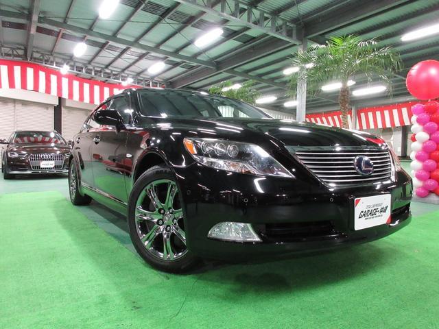 沖縄県の中古車ならLS 5.0 LS600hL後席セパレートシートパッケージ