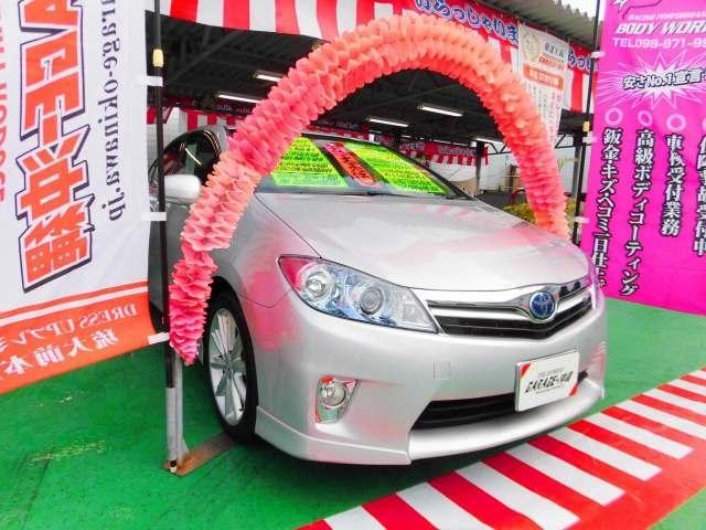 沖縄の中古車 トヨタ SAI 車両価格 89万円 リ済込 2010(平成22)年 5.3万km シルバーM