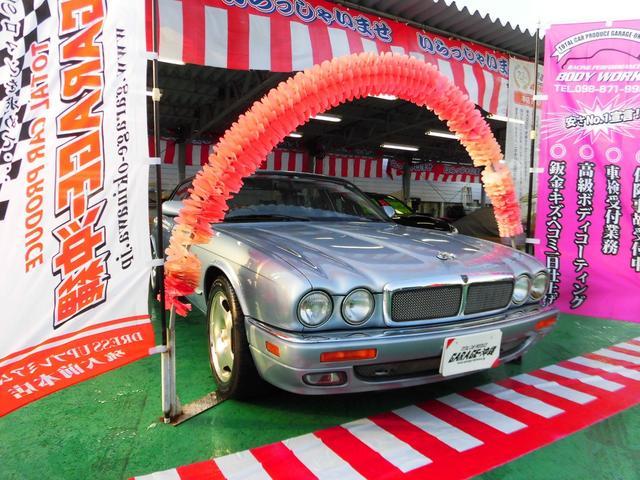 沖縄県の中古車ならジャガー XJ-R スーパーチャージド・レザーVr