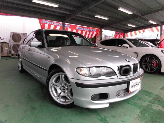 沖縄の中古車 BMW 3シリーズ 車両価格 59万円 リ済込 2003(平成15)年 10.0万km シルバーM
