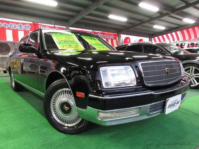 沖縄県の中古車ならセンチュリー V12・EMVツインマルチ・本革フルパワーシートVr