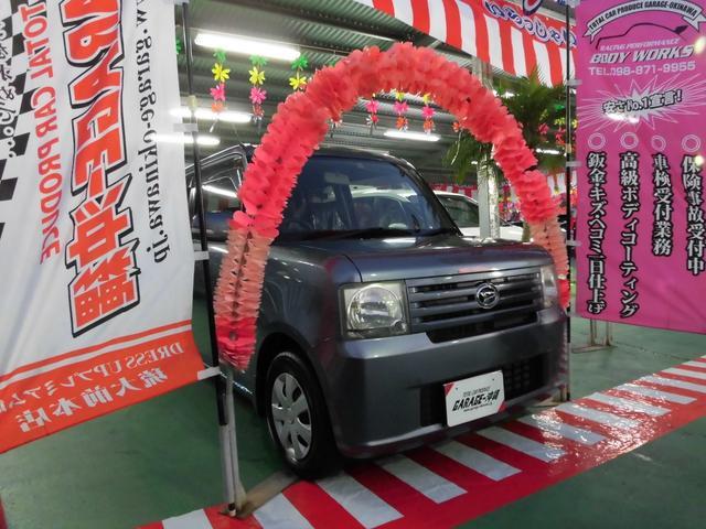沖縄の中古車 ダイハツ ムーヴコンテ 車両価格 45万円 リ済込 2009(平成21)年 6.6万km グレーM