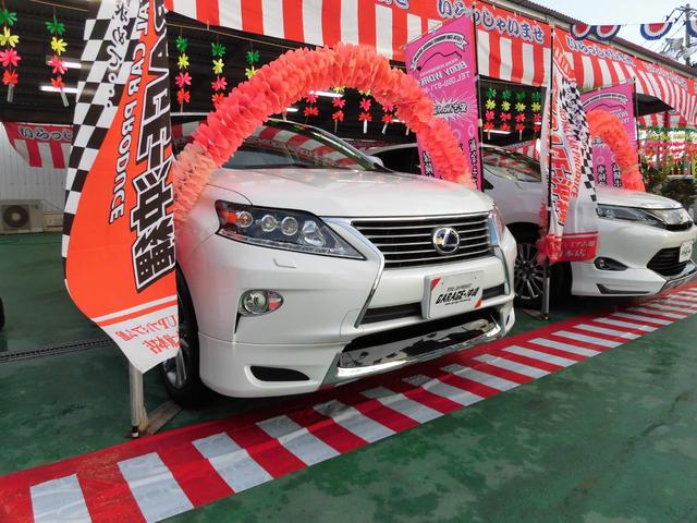 沖縄県の中古車ならRX 450h・HDDナビLED本革サンルーフモデリスタ禁煙車