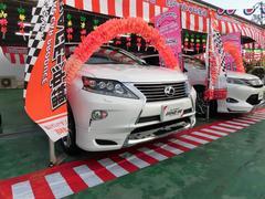 RX450h・HDDナビLED本革サンルーフモデリスタ禁煙車