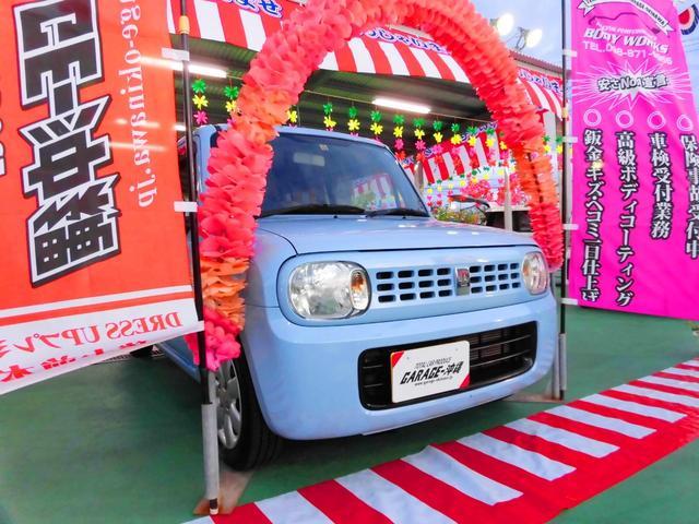 沖縄の中古車 スズキ アルトラパン 車両価格 55万円 リ済込 2011(平成23)年 5.9万km ブルーM