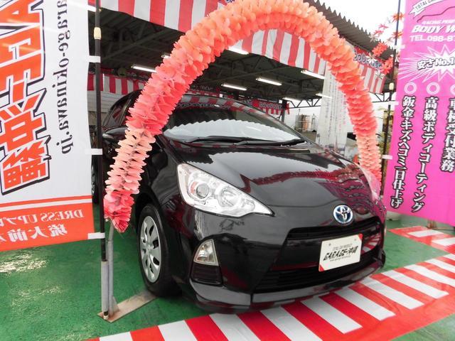 沖縄県の中古車ならアクア TypeS・ナビ&フルセグ・プッシュスタートVr禁煙車