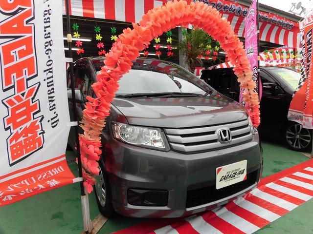 沖縄の中古車 ホンダ フリードスパイク 車両価格 59万円 リ済込 2010(平成22)年 4.3万km ガンM
