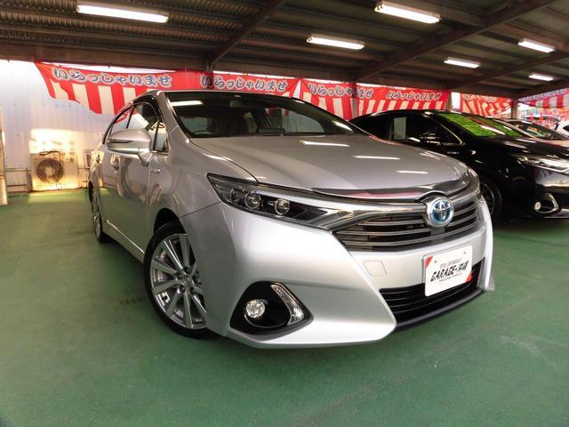 沖縄県の中古車ならSAI ハイブリッド2.4G・SDナビ&フルセグ・LEDライト