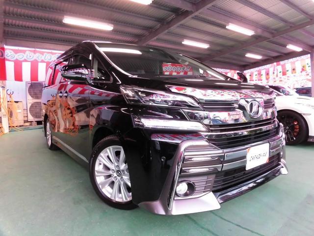沖縄県の中古車ならヴェルファイア 2.5Zナビ&フルセグ・LEDライトワイドガーニッシュエアロ