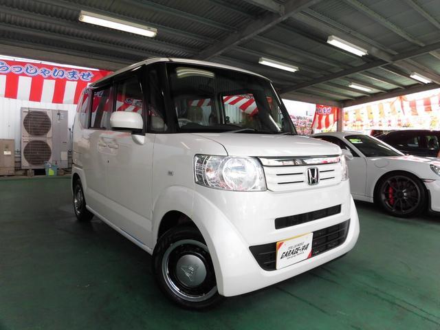 沖縄の中古車 ホンダ N-BOX 車両価格 59万円 リ済込 2012(平成24)年 10.2万km パールホワイト