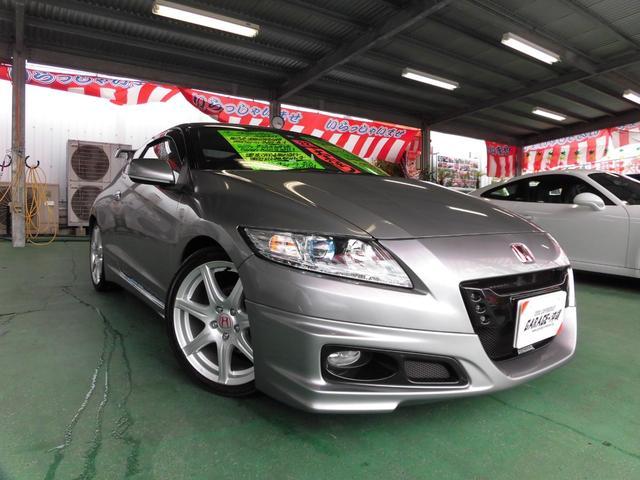 沖縄の中古車 ホンダ CR-Z 車両価格 98万円 リ済込 2010(平成22)年 4.3万km グレー