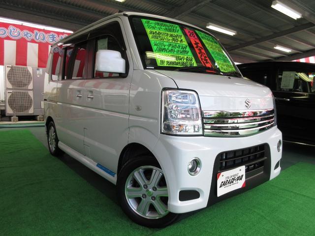 沖縄県の中古車ならエブリイワゴン PZターボスペシャル ・ナビ&フルセグ・キセノン・ツインパワードア・エアロVr禁煙車
