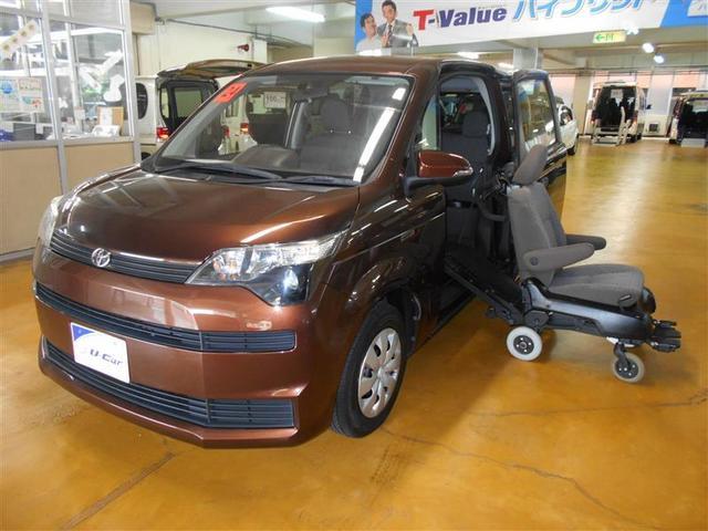 沖縄の中古車 トヨタ スペイド 車両価格 85万円 リ済別 2012(平成24)年 0.5万km ブラウン