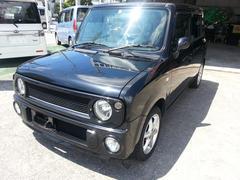 沖縄の中古車 スズキ アルトラパン 車両価格 39万円 リ済込 平成15年 11.2万K ブラックM